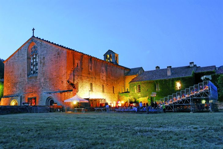12 ; Aveyron ; Festival international de musique sacrŽe de l'ABBAYE DE SYLVANES