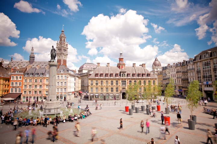 Lille Grand Place © Laurent Ghesquiere