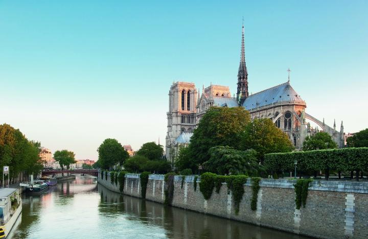 PARIS 4 EME ARRONDISSEMENT - ILE DE LA CITE - CATHEDRALE NOTRE DAME DE PARIS