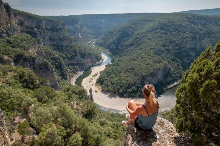 View on Ardèche Gorges - southern Ardèche (c) Tristan Shu